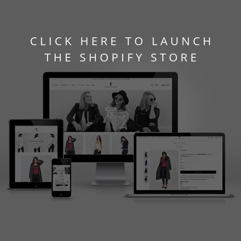 French Freddie Shopify Site by Deeco Studio