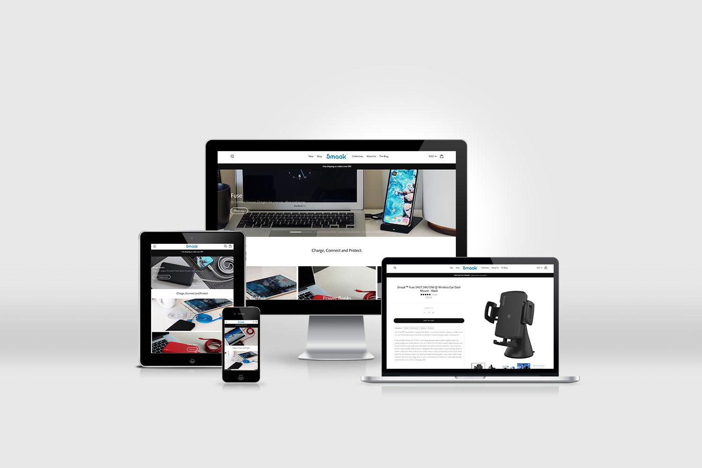 deeco studio shopify site for smaak