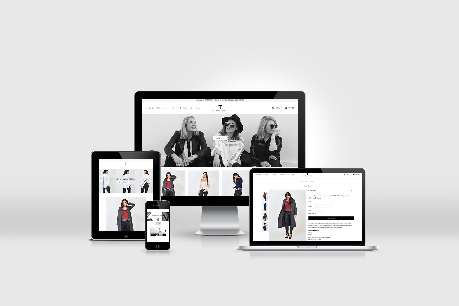 french freddie shopify site