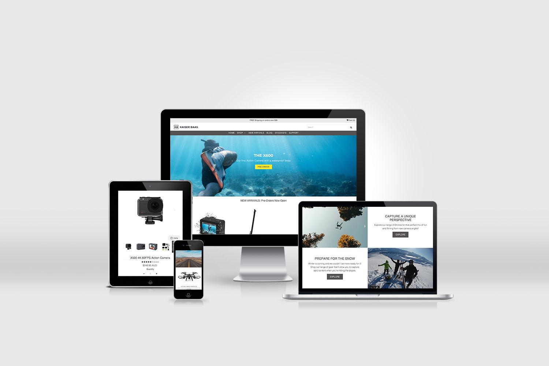 kaiser baas shopify site